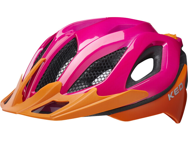 KED Spiri Two Casque, pink orange